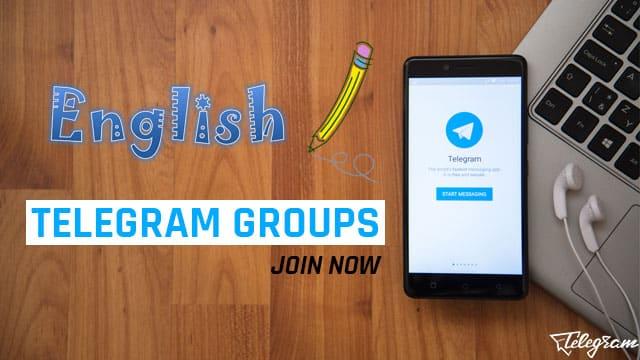 Telegram English Group Links for Learning (2019)
