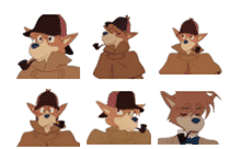 Furry Telegram Stickers (Cat, Dog, Lion, Car, Bumper Pack)
