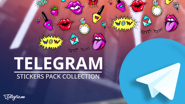 Telegram Stickers Pack - Collection of New Stickers to