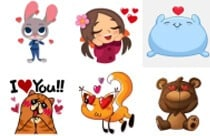 Love Collection Stickers