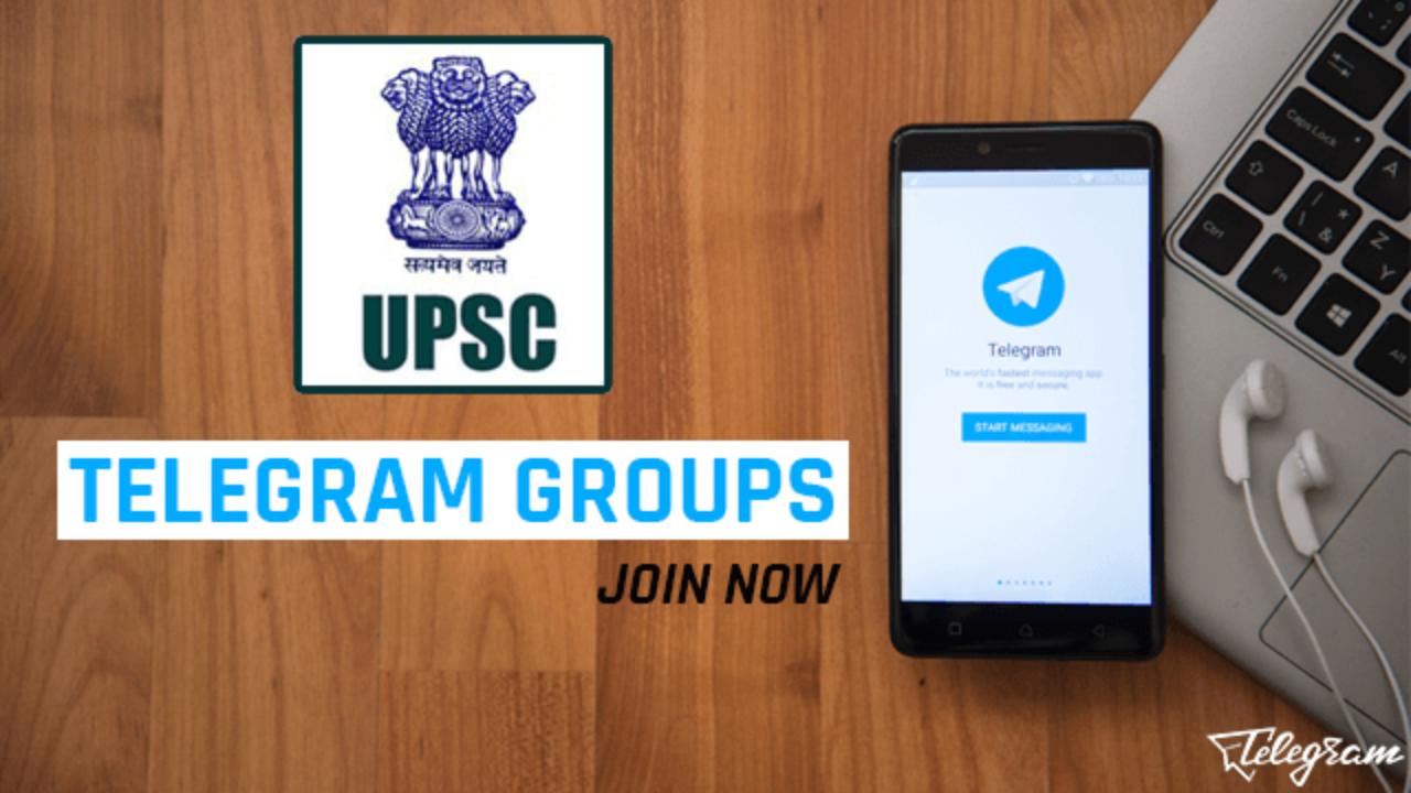 Best Telegram Groups for UPSC Preparation (2019)