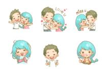 Telegram Love Stickers