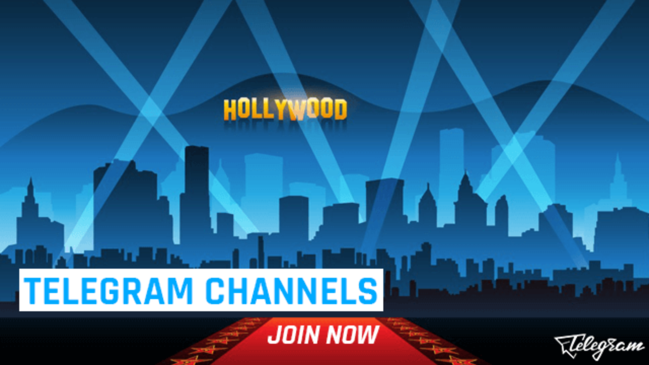 Telegram English Movie Channels for Hollywood Lovers (2019)