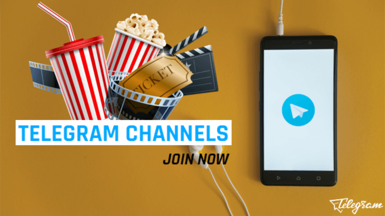 100+ Telegram Movie Channels (Hindi, English, Telugu, Dubbed