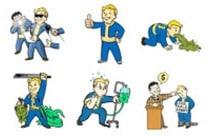 Fallout Meme Stickers