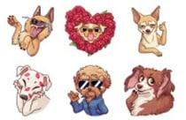 Mora Dog Meme Stickers