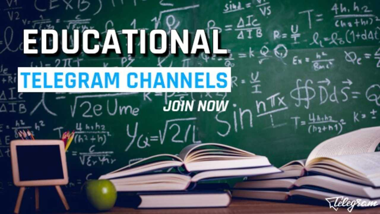 Telegram Education Channels to Learn Something New (2019)